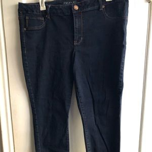 NWOT Worn Once! Maurices Skinny Jeans 20W